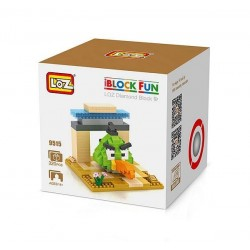 "Конструктор LOZ 9515 Angry Birds Diamond Block iBlock Fun ""Зеленая птица"""