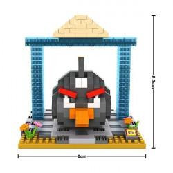 "Конструктор LOZ 9518 Angry Birds Diamond Block iBlock Fun ""Черная птица"""