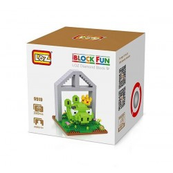 "Конструктор LOZ 9519 Angry Birds Diamond Block iBlock Fun ""Король свин"""
