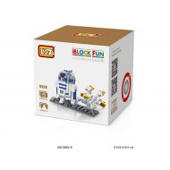 "Конструктор LOZ 9528 Star Wars Diamond Block iBlock Fun ""Дроид R2-D2"""