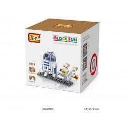 """Конструктор LOZ 9528 Star Wars Diamond Block iBlock Fun """"Дроид R2-D2"""""""