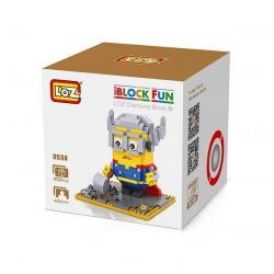 """Конструктор LOZ 9538 Diamond Block iBlock Fun """"Миньон Тор"""""""