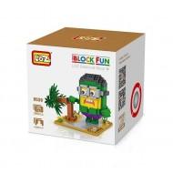 """Конструктор LOZ 9539 Diamond Block iBlock Fun """"Миньон Халк"""""""