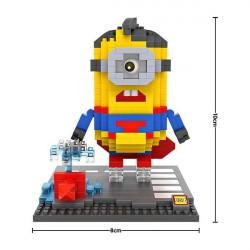 """Конструктор LOZ 9540 Diamond Block iBlock Fun """"Миньон Супермен"""""""