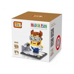 """Конструктор LOZ 9543 Diamond Block iBlock Fun """"Миньон Росомаха"""""""