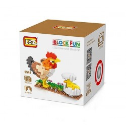 "Конструктор LOZ 9544 Diamond Block iBlock Fun ""Курица и цыпленок"""
