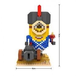 """Конструктор LOZ 9615 Diamond Block iBlock Fun """"Миньон солдат"""""""