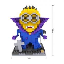 """Конструктор LOZ 9616 Diamond Block iBlock Fun """"Миньон вампир"""""""