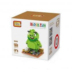 "Конструктор LOZ 9646 Angry Birds Diamond Block iBlock Fun ""Леонард"""