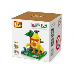 "Конструктор LOZ 9648 Angry Birds Diamond Block iBlock Fun ""Чак, желтая птица"""