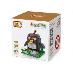"Конструктор LOZ 9649 Angry Birds Diamond Block iBlock Fun ""Бомба, черная птица"""