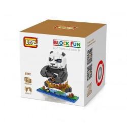 """Конструктор LOZ 9712 Diamond Block iBlock Fun """"Панда По"""""""