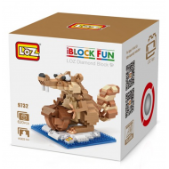 "Конструктор LOZ 9732 Diamond Block iBlock Fun ""Белка Скрат и орех"""