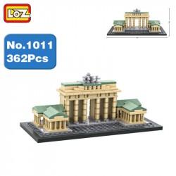 Конструктор LOZ 1011 Architecture Бранденбургские ворота MINI Blocks 362дет.