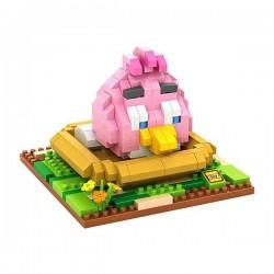 "Конструктор LOZ 9517 Angry Birds Diamond Block iBlock Fun ""Розовая птица"""