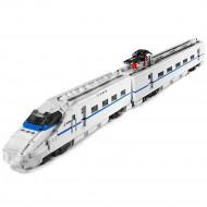 Конструктор Mould King 12002 Высокоскоростной поезд CRH2A с ДУ
