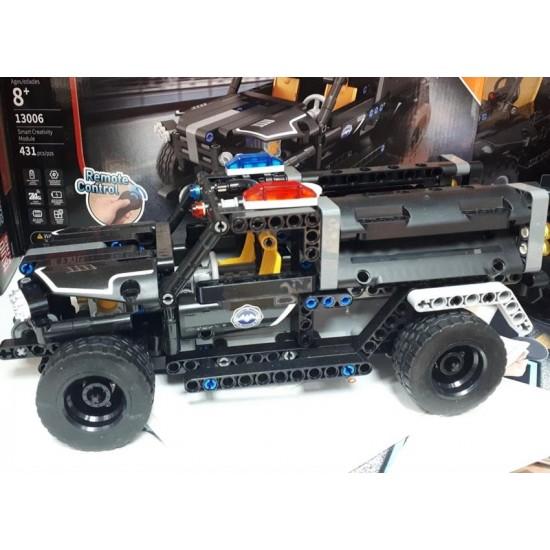 Радиоуправляемый конструктор Mould King 13006 Полицейский джип 2.4G