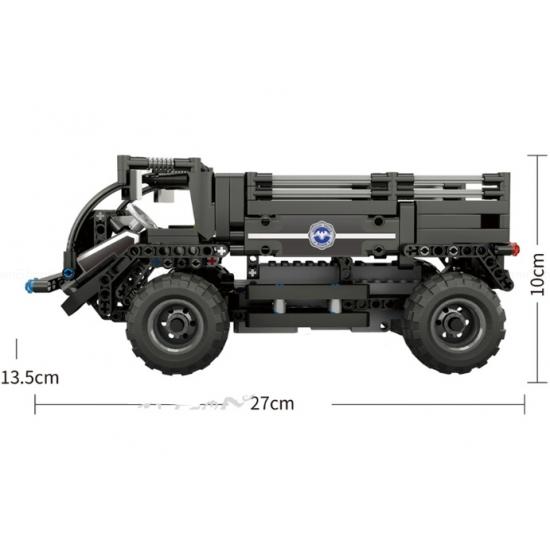 Радиоуправляемый конструктор Mould King 13008 Полицейский грузовик 2.4G