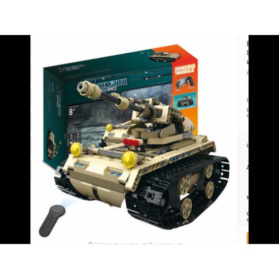 Радиоуправляемый конструктор Mould King 13010 Танк 2.4G