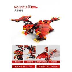 Радиоуправляемый конструктор Mould King 13019 Боевой дракон 2.4G
