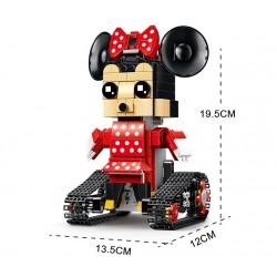Конструктор радиоуправляемый MOULD KING 13042, аналог LEGO Technic/BrickHeadz 41625