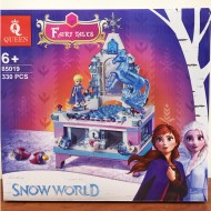 Конструктор 85019 King&Queen Шкатулка Эльзы, копия Lego 41168 Disney Princess