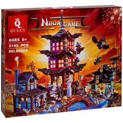 Конструктор 89009 KING&QUEEN Храм Аэроджитцу — Храм Воздуха (бывший Lepin 06022), аналог Lego Ninjago 70751