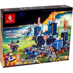 Конструктор 97006 KING&QUEEN Фортрекс – мобильная крепость (бывший Lepin 14006), аналог Lego Nexo Knights 70317