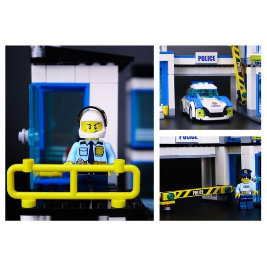 Конструктор Lepin 02020 Полицейский участок, аналог Лего 60141