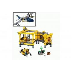 Конструктор Lepin 02088: Глубоководная исследовательская база (аналог Lego 60096)