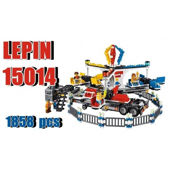 Конструктор Lepin 15014 Creator Передвижной парк аттракционов