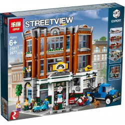 Конструктор Lepin 15042 Угловой гараж | аналог Lego Creator 10264
