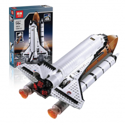 Конструктор Lepin 16014 Космический шаттл | аналог Lego Creator 10231 и 10213