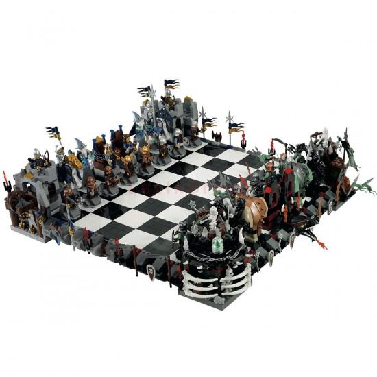 Конструктор Lepin 16019 Замок Гигантские шахматы Гарри Поттер Castle Giant Chess   аналог Lego 852293