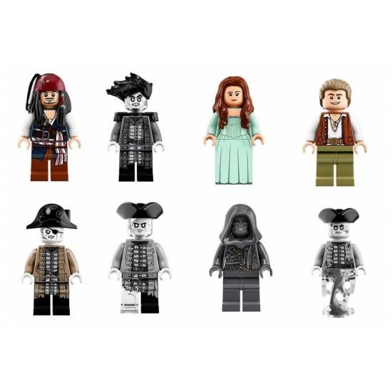 Конструктор Lion King 180141 Пираты, Тихая Мэри — Большой Пиратский Корабль, бывшие Lepin 16042 / Аналог Lego 71042