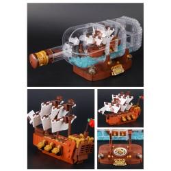 Конструктор KING QUEEN 83029 Корабль в бутылке, бывший Lepin 16051   аналог Lego Ideas (Айдиас) 21313