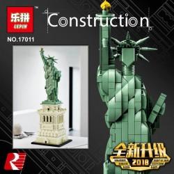 Конструктор Lepin 17011 Статуя Свободы |аналог Lego Architecture 21042