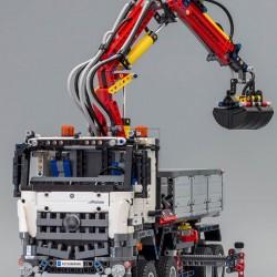 Конструктор Lepin 20005 грузовик Mercedes-Benz Arocs 3245 / аналог Lego 42043 Technics