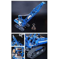 Конструктор 90010 KING&QUEEN Гусеничный кран (бывший Lepin 20010), аналог Lego Technic 42042
