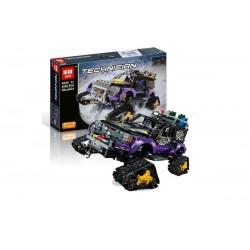 Конструктор Lepin 20057 Экстремальные приключения   аналог Lego Technic 42069