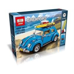 Конструктор Lepin 21003, аналог Lego 10252 Creator Фольксваген Жук