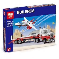 Конструктор Lepin 21017 Тягач Мак II Красная Птица   аналог Lego Technic 5591