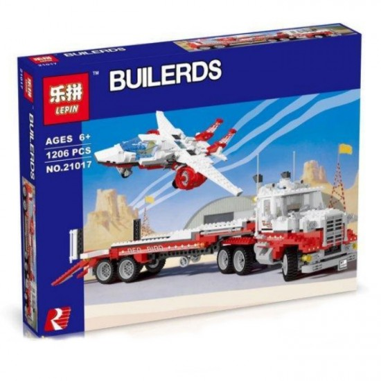 Конструктор Lepin 21017 Тягач Мак II Красная Птица | аналог Lego Technic 5591