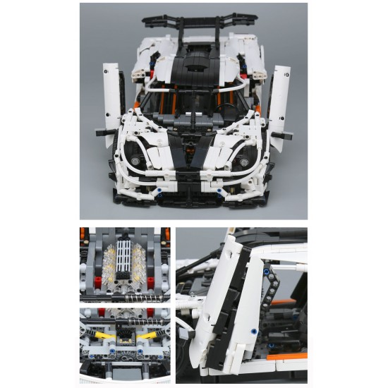 Конструктор 93001 KING&QUEEN TECHNICS, Супер-кар Кенигсегг (бывший Lepin 23002), аналог Lego moc-4789 Техник