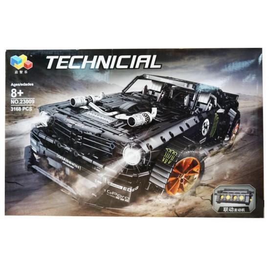 Конструктор Lepin 23009 Форд Мустанг Hoonicorn V2 | аналог Lego Technic MOC 22970