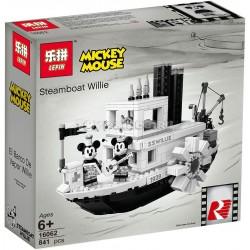 Конструктор Lepin 16062 Пароходик Вилли — Юбилей Микки Мауса / аналог Lego 21317