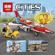Конструктор Lepin 02007 Авиашоу, аналог Lego 60103 Сити