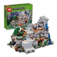 Конструктор Lepin 18032 Горная пещера, копия Lego 21137 Minecraft
