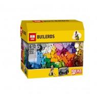 Конструктор Lepin 42006 Набор кубиков для свободного конструирования (аналог Lego Classic 10702 (Классик)