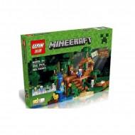Конструктор Lepin 18003 Домик на дереве в джунглях, копия Lego 21125 Minecraft